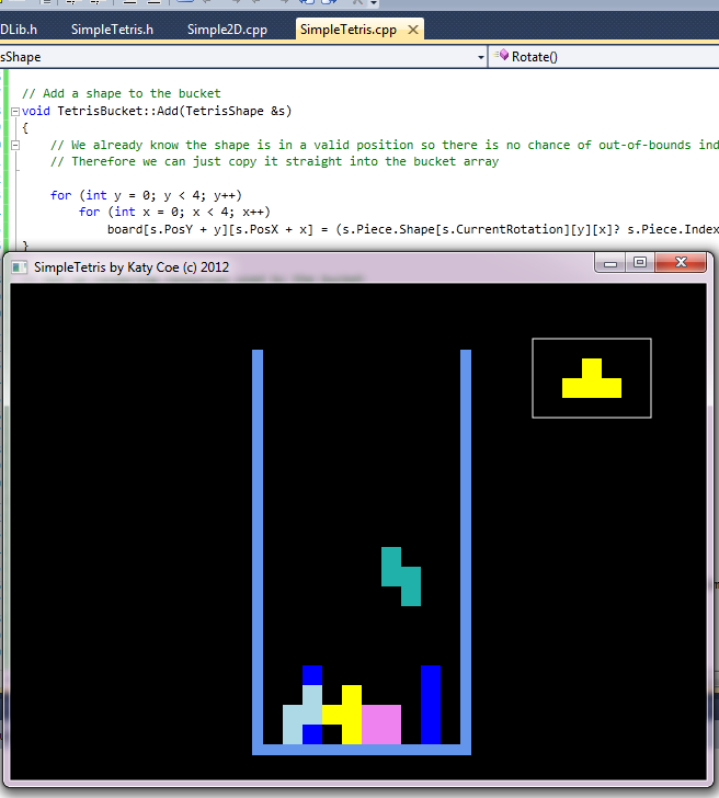 Coding Challenge: Write Tetris In 8 Hours or Less (3/6)
